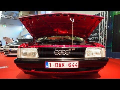 Audi 100 (Type 44 C3) 1987 Tuning 55kW 75 ps 16 Porsche S4 winterdeckel 8j x R16