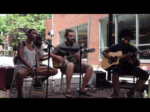 You're the One (Black Keys Cover) - Nick Hakim, Jaime Woods, Danny Woods, & Kyle Miles