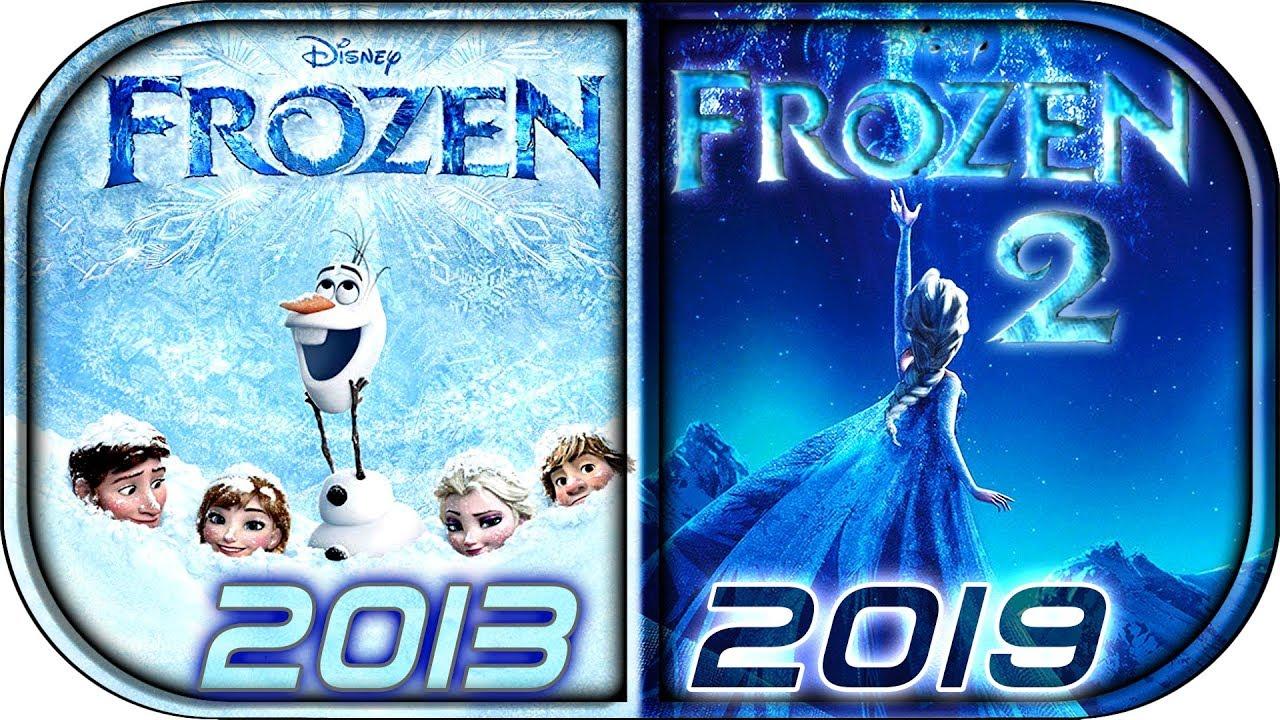 Download EVOLUTION of FROZEN movies tv series (2013-2019)⛄ Frozen 2 movie full official teaser trailer  2019