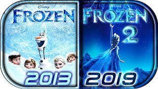 EVOLUTION of FROZEN movies tv series (2013-2019)⛄ Frozen 2 movie full official teaser trailer  2019