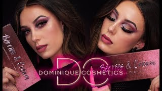 DOMINIQUE COSMETICS | BERRIES AND CREAM | Makeup Tutorial | Victoria Lyn