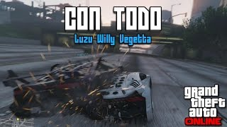 CON TODO!! - Carreras GTA V con Willy y Vegetta - [LuzuGames]
