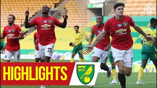 Ighalo & Maguire Send United To Wembley! | Highlights | Norwich City 1-2 Manchester United  Aet