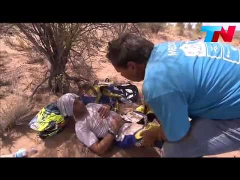 asi rescataron al uruguayo mauro almeida