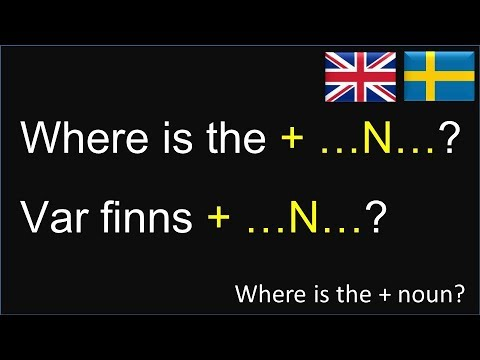 Swedish-English language lesson: engelska svenska: 50 basic sentence structures, 150 short sentences