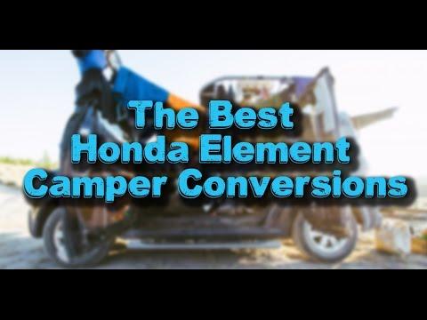 The Best Honda Element Camper Conversions Youtube