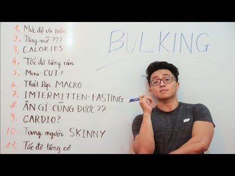 Tất cả những gì bạn cần biết về XẢ CƠ/BULKING/ TĂNG CƠ   Video KHÔNG THỂ BỎ LỠ    An Nguyen Fitness