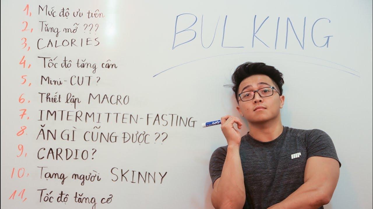 Tất cả những gì bạn cần biết về XẢ CƠ/BULKING/ TĂNG CƠ | Video KHÔNG THỂ BỎ LỠ| | An Nguyen Fitness