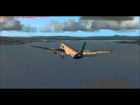 FSX, Approche TFFF (Fort de france) Airbus A330 By Jm