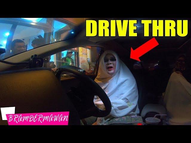 SUZANNA DRIVE THRU PRANK SEREM BANGET PART 2 - BRAM DERMAWAN