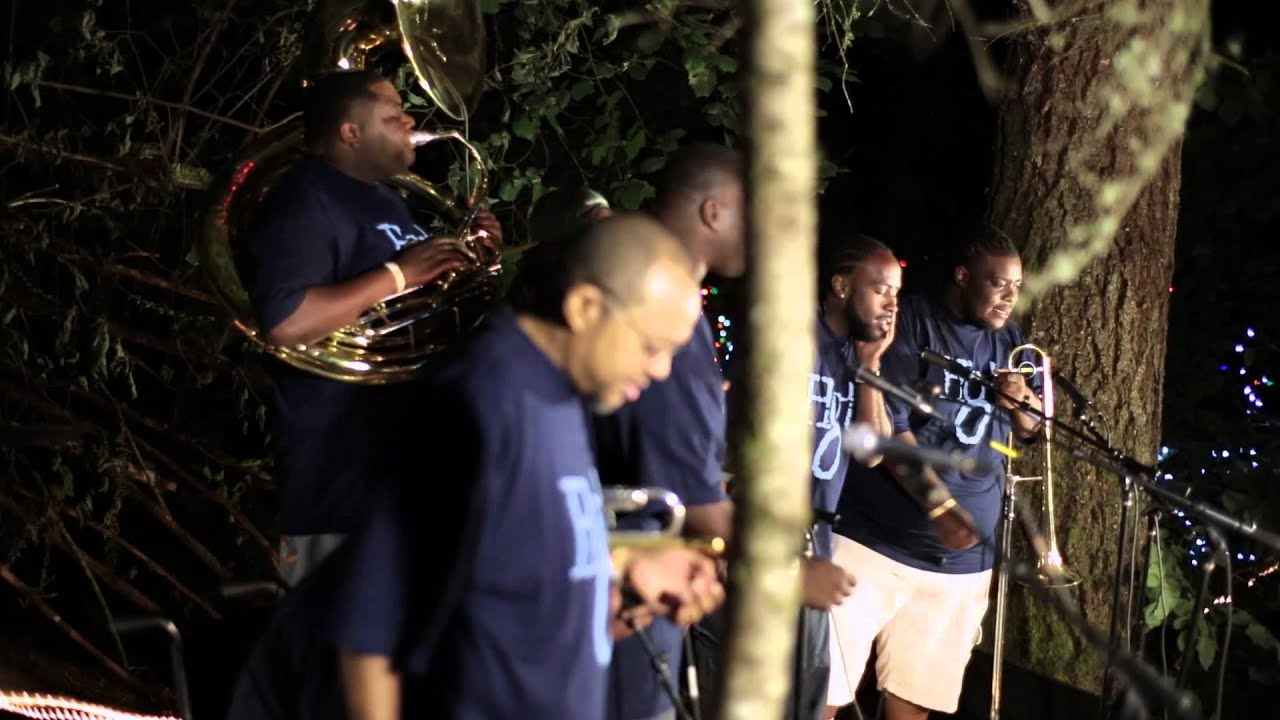 Sexual feeling hot 8 brass band