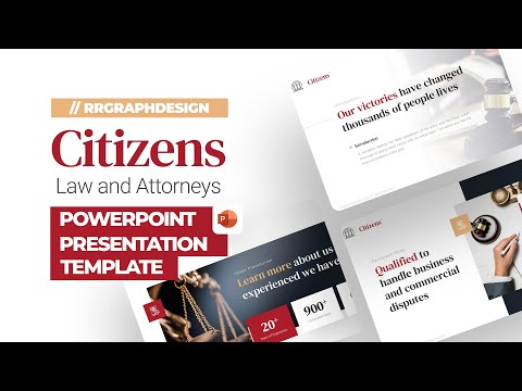 Citizens Law and Attorneys Template [Product Showcase]