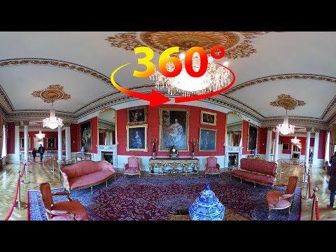 360 / VR 4K Tour (No Comments) of Dublin Castle - Ireland
