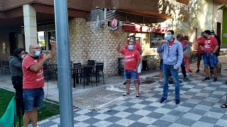 Trabajadores de Coca-Cola protestan el día del juicio por el escrache a Marcos de Quinto