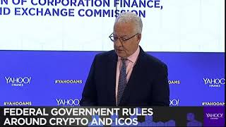 SEC William Hinman issued new remarks on whether crypto assets are securities