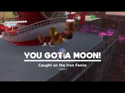 Super Mario Odyssey Bowser S Kingdom Moon 12 Caught On The