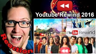 YouTube Rewind: The Ultimate 2016 Challenge REACTION!