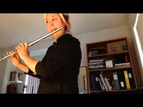 Flute 1 Overture for Winds Charles Carter