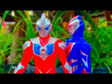 Mencari Mainan Ultraman Zero | Ultraman Taro | Ultraman Orb  di kebun sayur