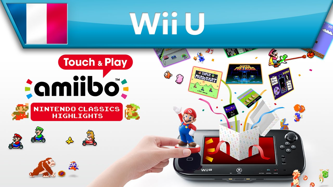 Amiibo Touch Play Nintendo Classics Highlights Bande