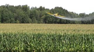 Crop Duster in Galion Ohio 8-5-13