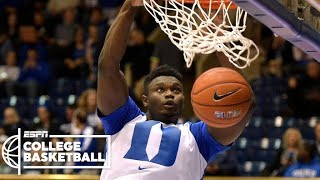 zion williamson high school highlights