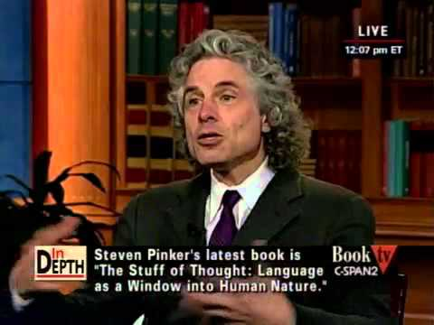 Steven Pinker - CSPAN In Depth with Steven Pinker