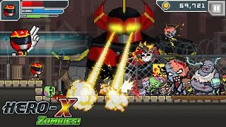 HERO-X: ZOMBIES! Android Gameplay