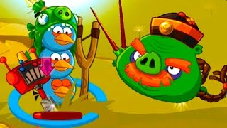 Энгри Бердс #22 ЗЛЫЕ ПТИЧКИ ЭПИК игровой мультик про мультфильм Аngry Birds Плохие свинки КРУТИЛКИНЫ