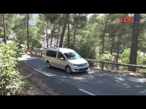 The new VW Caddy Maxi Komfortline - BKF TV Reportage aus Marseille