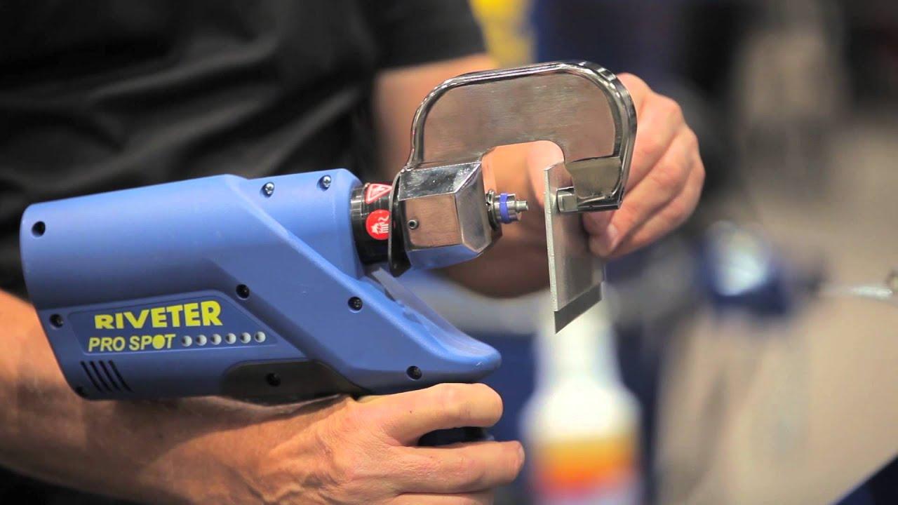 Pro Spot Aluminum Self Piercing Rivet Youtube