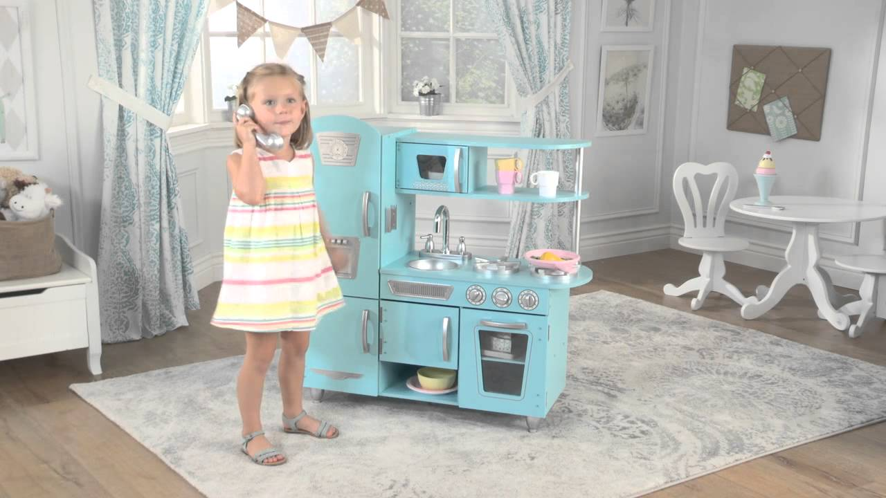 kidkraft blue vintage kitchen - Kidkraft Vintage Kitchen