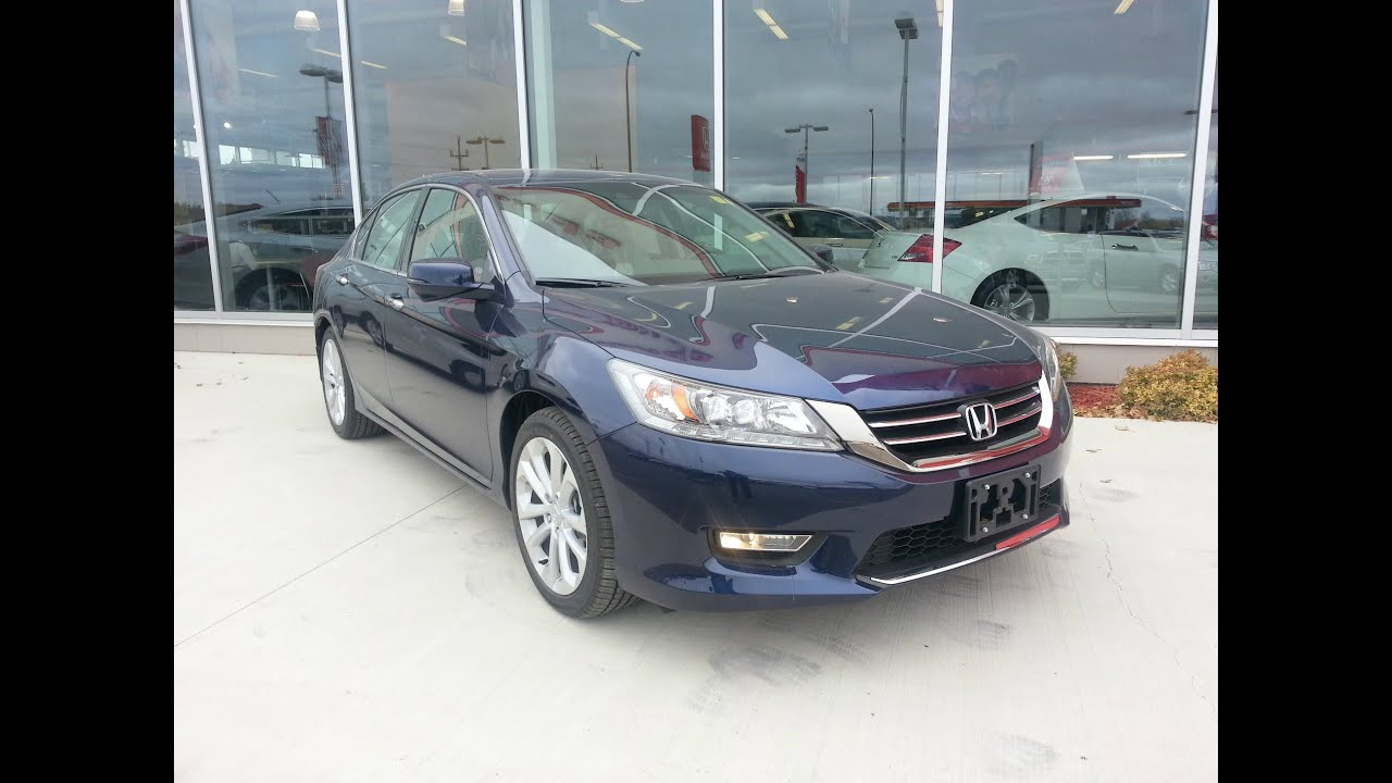 2013 honda accord touring v6 start up walkaround and in. Black Bedroom Furniture Sets. Home Design Ideas