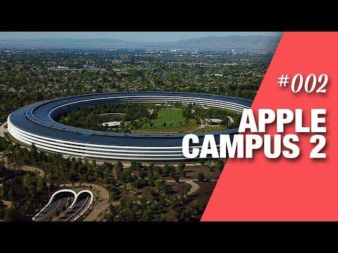 Apple Campus 2 & bei Facebook wachsen Bäume auf dem Dach - VLOG 02