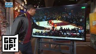 Jalen Rose breaks down film of LeBron James