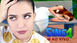 🔴 ELA DORMIU NO CASAMENTO! (The Sims 4 - Live #2)