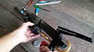 Homemade Airgun | How to Make a Powerful PVC Airgun 2018