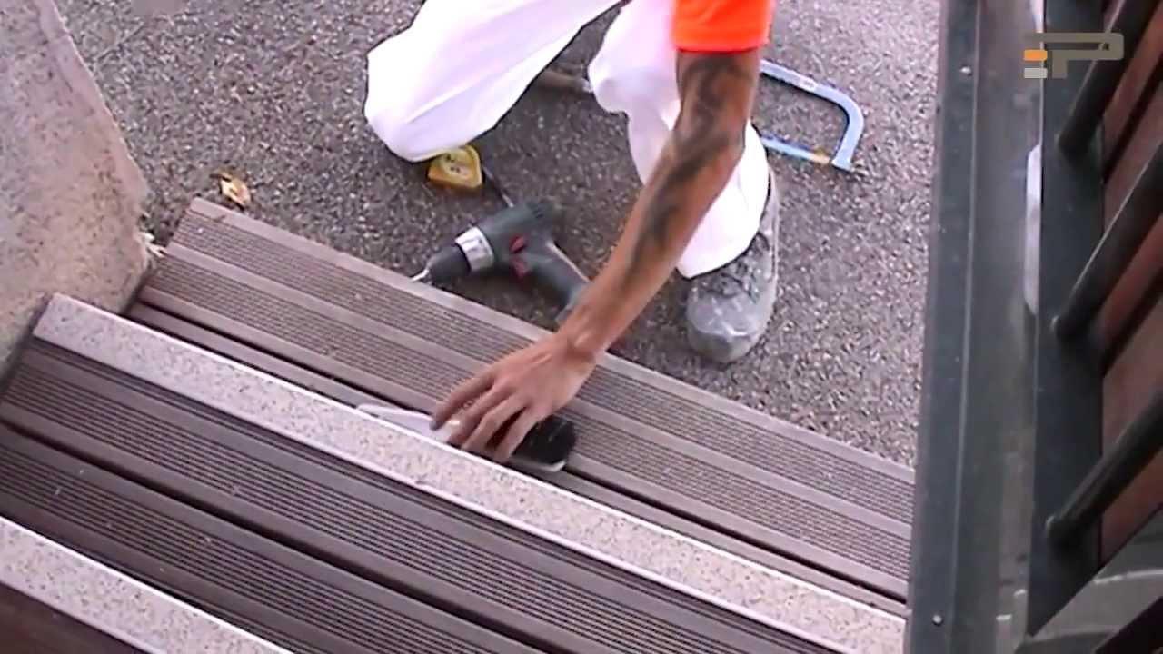 TBS Passage Anti Slip Stair Nosing   Installation   YouTube
