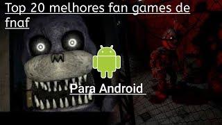 Top 20 Melhores Fan Games de FNaF para Android
