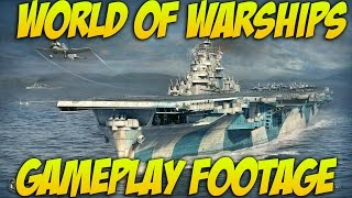 World Of Warships Gameplay - Preview - Battleships & Aircraft Carriers