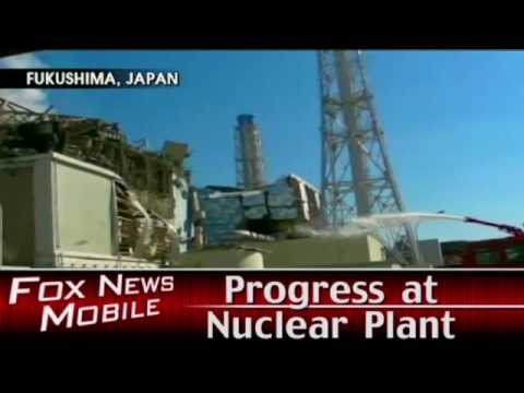 Progress at Japan Nuclear Plant