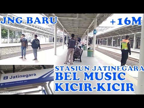 STASIUN JATINEGARA BARU, BEL MUSIC KICIR-KICIR-ibnu Faiz