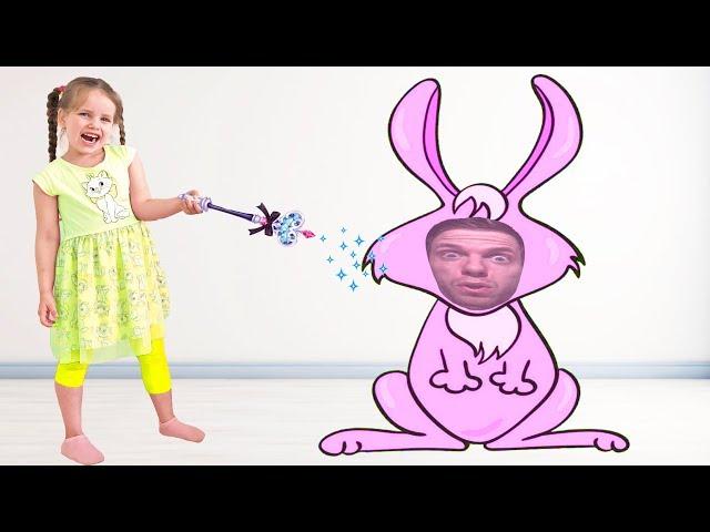 Алёна и история про то как не надо себя вести детям / Popsy Toys