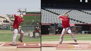 Mike Trout Explains His Swing Sport Science Baseball