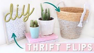DIY Home Decor on a Budget - Thrift Flips and Upcycled DIY Room Decor