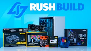 How To Build a PC - Giveaways + CLG RUSH Custom Build i9-9900k /2080Ti in Carbide 275R | Robeytech
