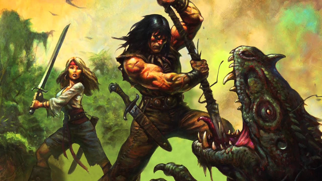 Robert E  Howards CONAN Roleplaying Game Quickstart