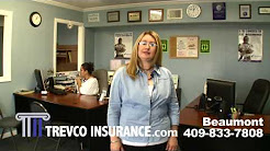 Trevco Auto Insurance Beaumont Texas: Car Insurance