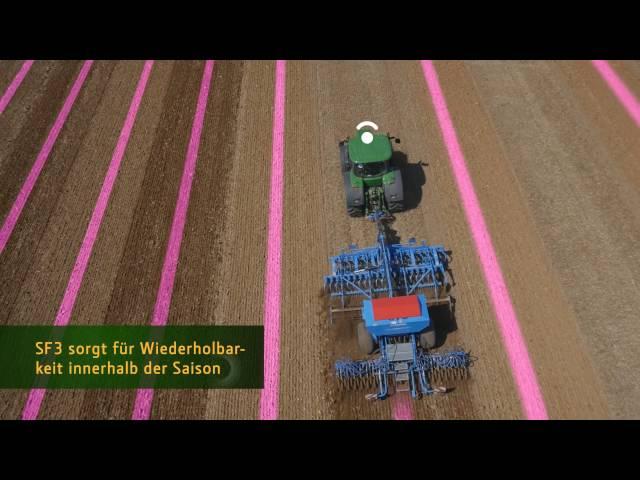 Das neue John Deere SF3-Signal - Wiederholbarkeit innerhalb der Saison