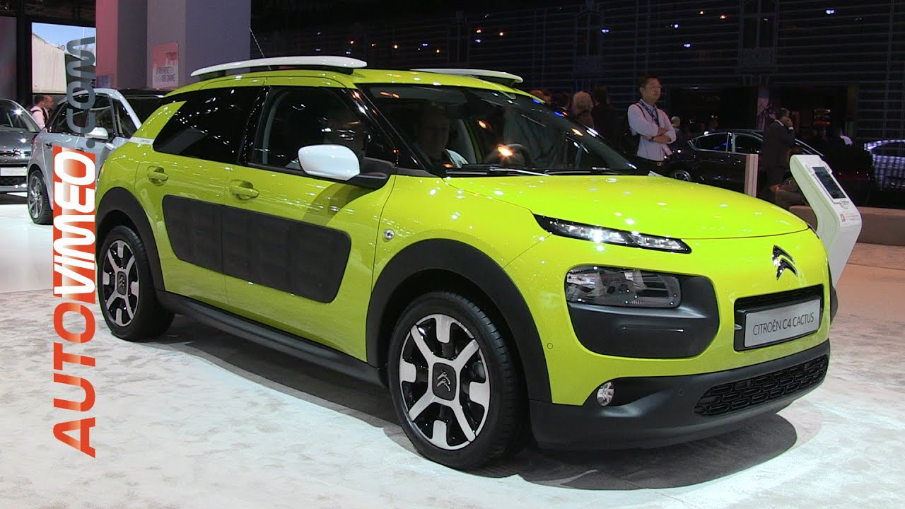 Citroen C4 Cactus Green >> Citroen C4 Cactus Bluehdi 100 Manual Feel Edition 2014 Autovimeo
